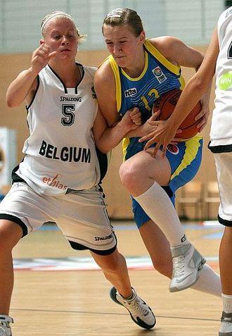 Julie Van Loo, dans le 5 de l'Euro U16 à Katowice, où la Belgique a fini 5-ème (photo: FIBA Europe)