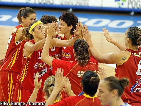 L'Espagne, seule invaincue