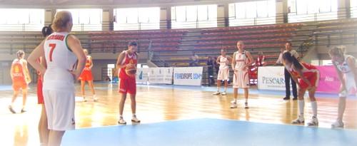 Belarusse -  Montenegro 70-64