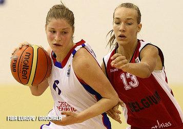 Anne-Sophie De Bondt en cie engrangent une nouvelle victoire (photo: FIBA Europe.com)