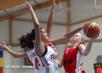 A un panier près, Julie Van Loo devenait l'héroïne des U16. Il faut tourner la page et penser à la France (photo: FIBA Europe.com/Grochala)