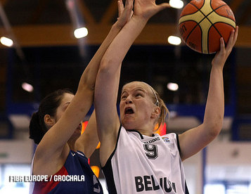 Un gros match contre la France pour un parcours exceptionnel, Hanne Mestadgh (photo: FIBA Europe.com)