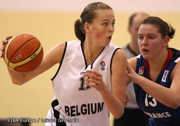 Emma Meesseman, une place dans le top 8 assurée avec la manière (photo: FIBA Europe.com/Lukasz Grochala)