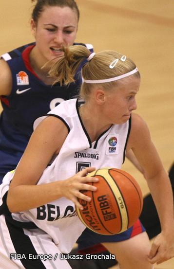 Julie Van Loo et les Belges ont renoué avec la victoire (photo: FIBA Europe/Lukasz Grochala)