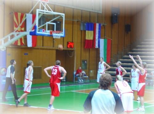 Hongrie/Belgique - Les Hongroises éliminées (photo: V. Deblock)