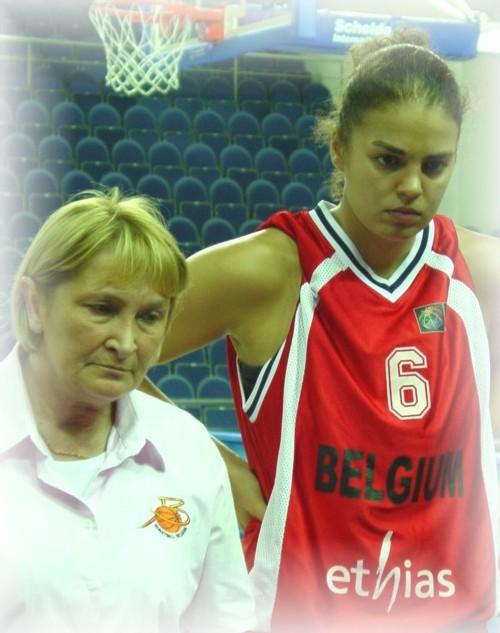 Sofie Hendrickx, boostée contre la Hongrie