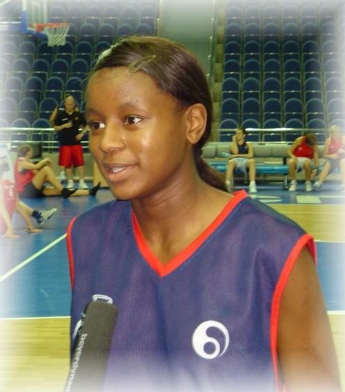 Noémie Mayombo sur Vivacité, le journal des sports sur la RTBF