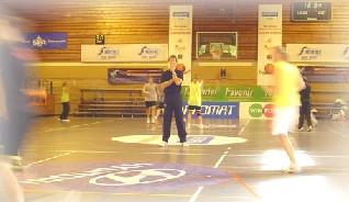 Jurgen Van Meerbeeck à l'entraînement au Centre Sportif de la Fraineuse samedi matin