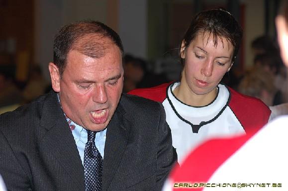 Didier Prinsen et Amélie Fiasse (photo: C. Picchione)
