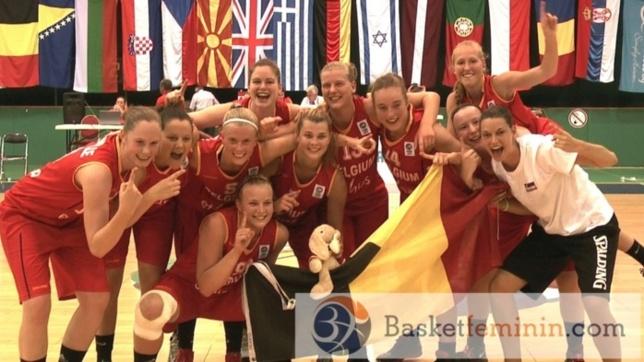 La Belgique remporte son championnat d'Europe U20 et remonte en division A !