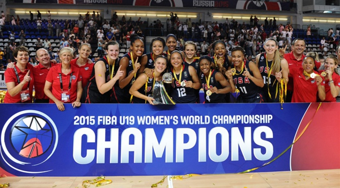 Les USA, championnes du monde (photo: FIBA.com)
