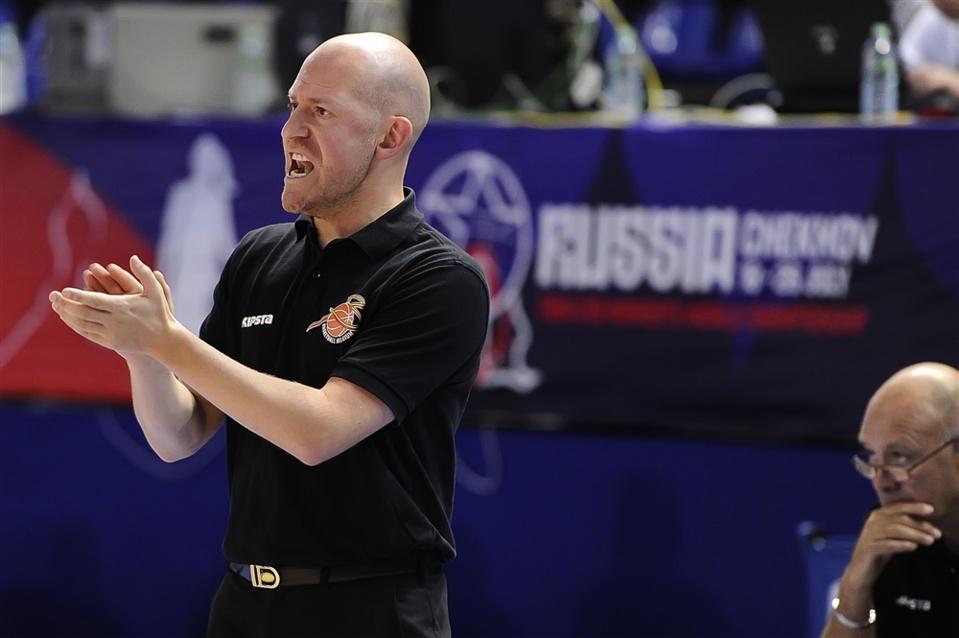 Arvid Diels a mené ses troupes vers un nouveau succès contre le Canada (FIBA.com)