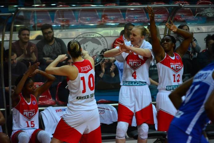 Ann Wauters en demi-finale encore de l'Eurocup (Photo: FIBA.com/Ilkin Mert Uzer)
