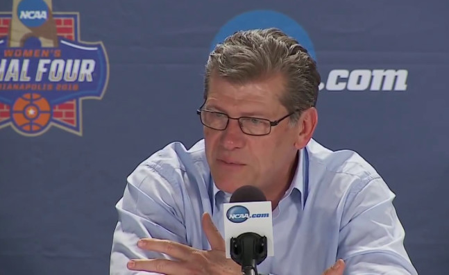 Geno Auriemma's words on body language