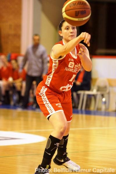Emilie Saucin prolonge bien à Namur