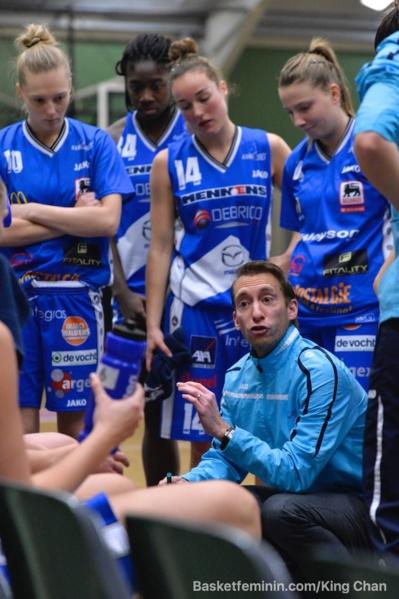 Les Anversoises prochent d'une finale (photo: King Chan)