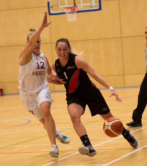 Chloé Bully de retour en Belgique (photo: northumbriasport.com)
