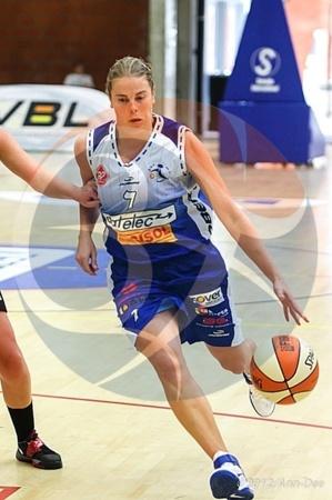 Annelies Blommaers (Houthalen) en termine après 15 années en division 1