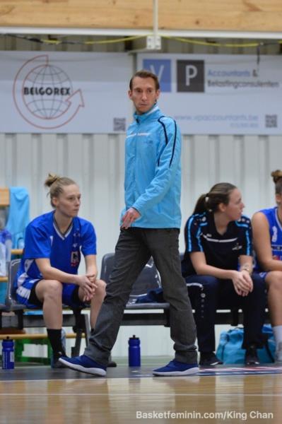Gerrit Driessens, coach de l'année