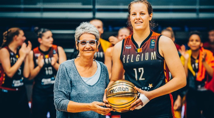 Billie Massey (Sint-Katelijne Waver), MVP ! (photo: FIBA.com)