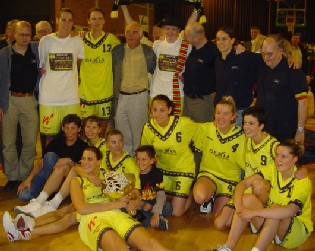Dexia Namur - Champion de Belgique!
