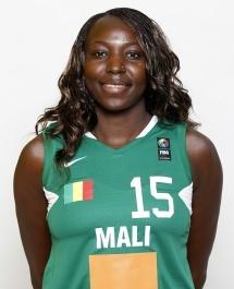 Djénébou Sissoko, un nouveau visage à Namur (photo: FIBA.com)