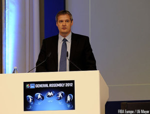 Olafur Rafnsson à Bruxelles (photo: FIBA Europe/Uli Mayer)