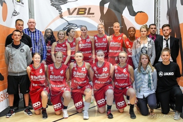 Belfius Namur Capitale 2012/2013 (photo: Ann-Dee Lamour/Basketfeminin.com)