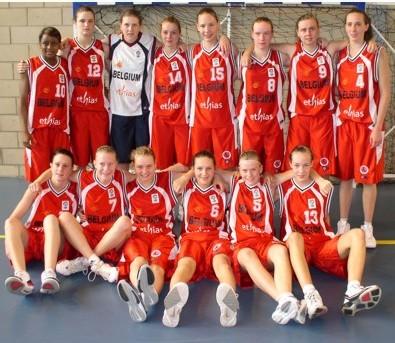 Belgium U16 (photo supplied by Leslie Anderson)