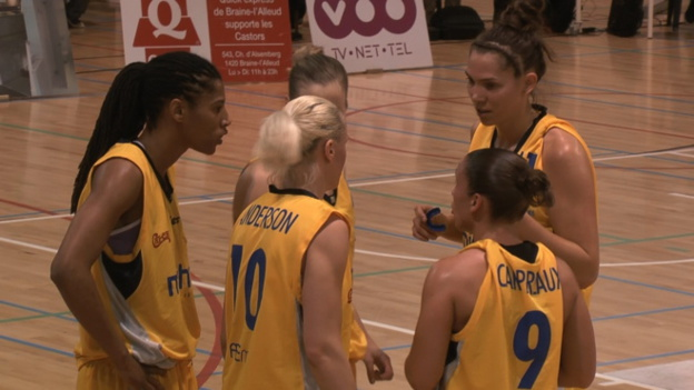 Finale des play-off - Game 1 - Quelle finale ! Castors Braine mène 1 à 0