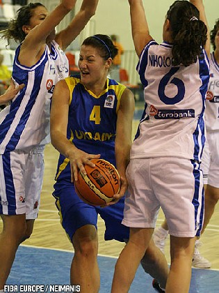 Olesya Malashenko (Ukraine) - Photo: FIBAEurope/Neimanis