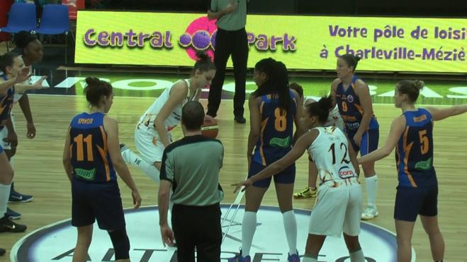 TV Live - Eurocup - Castors Braine / Charleville-Mézières (Fra) - 61-52