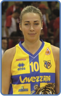 Olga Maznichenko (photo: basket-parma.it)
