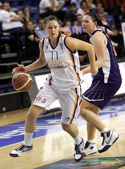 Regina Palusna dans la raquette namuroise (photo: FIBA Europe.com)