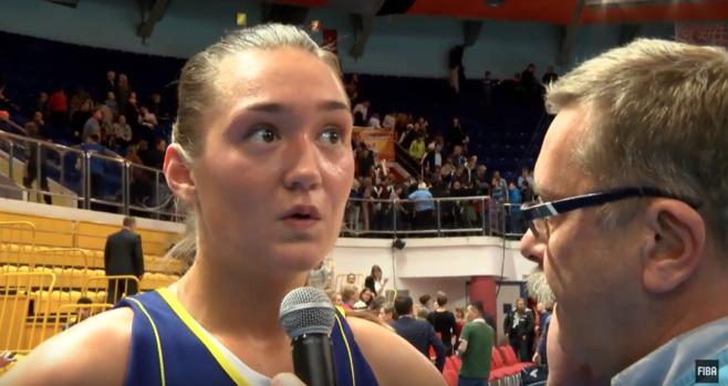 Anastasia Logunova était de retour au pays