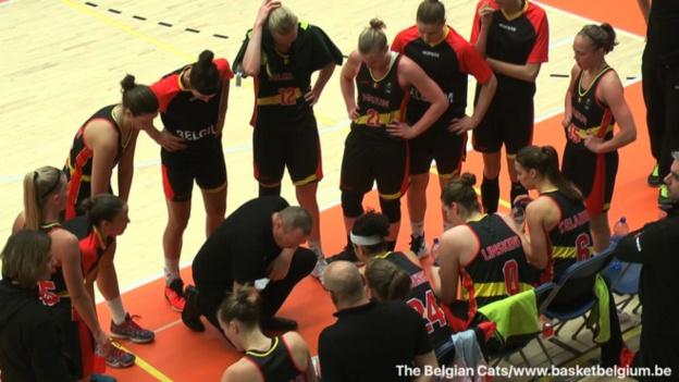 Préparation - La Belgique s'impose 49 à 67 aux Pays-Bas