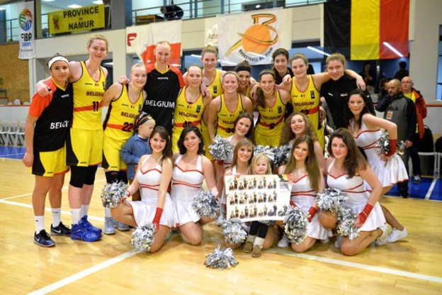 La Belgique toujours en course pour l'Euro-2017 (photo: www.basketbelgium.be/King Chan)