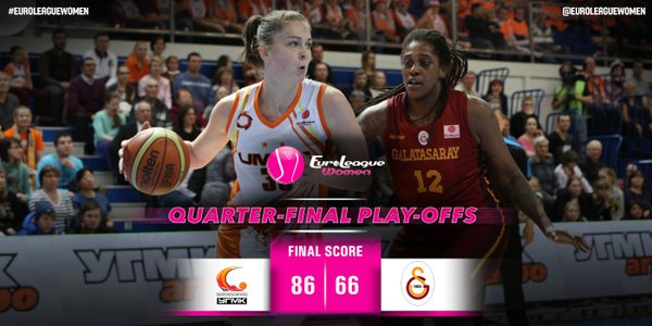 Emma Meesseman au Final Four de l'Euroleague avec Ekaterinburg