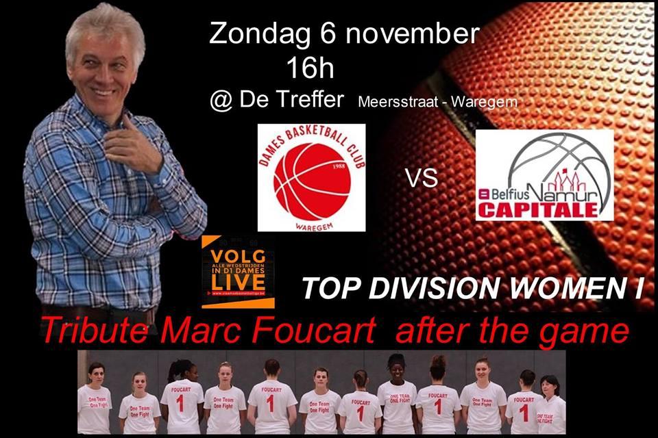TV - Le choc entre Declercq Stortbeton Waregem et Belfius Namur en livestream