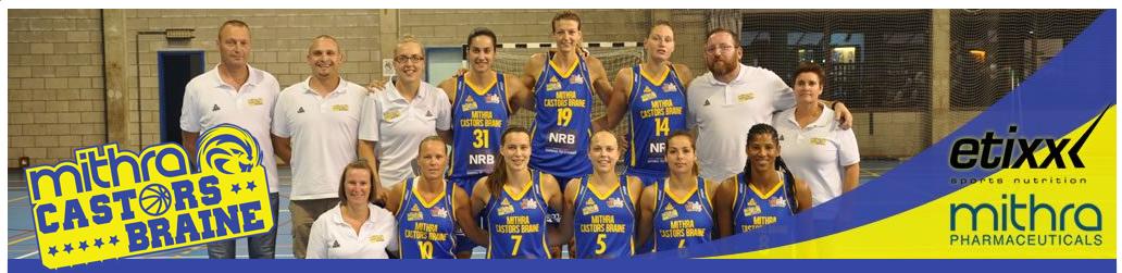 TV - En livestream Mithra Castors Braine vs Rutronik Stars Keltern en Eurocup FIBA