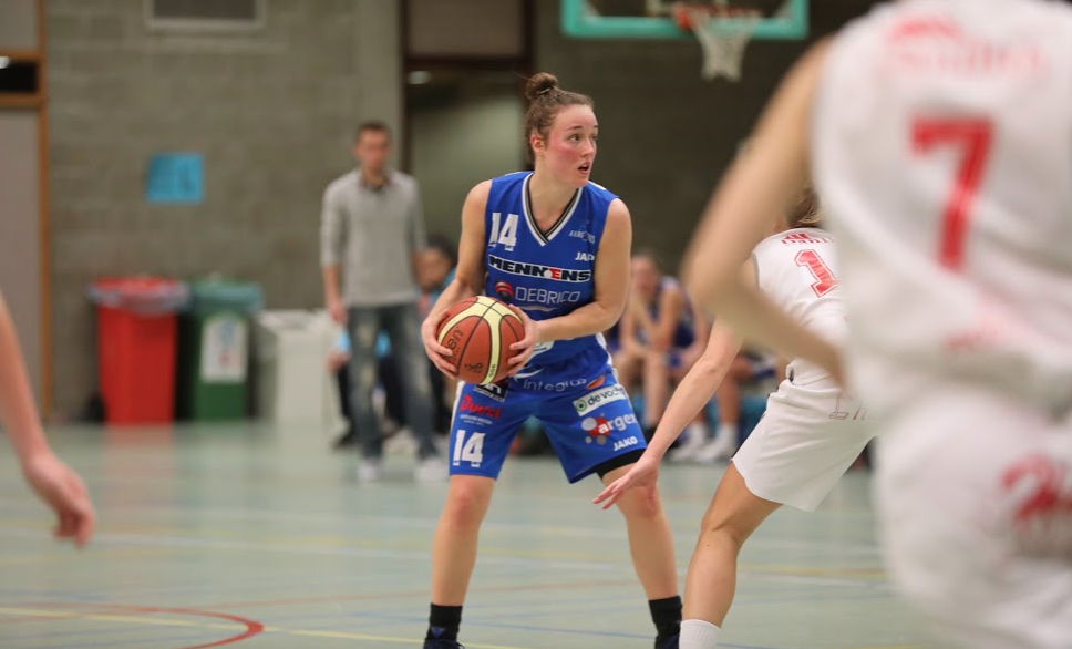 Heleen Adams (Kangoeroes Willebroek), 24 points et un suspens entier jusqu'au match retour (photo: Eddy Lippens)