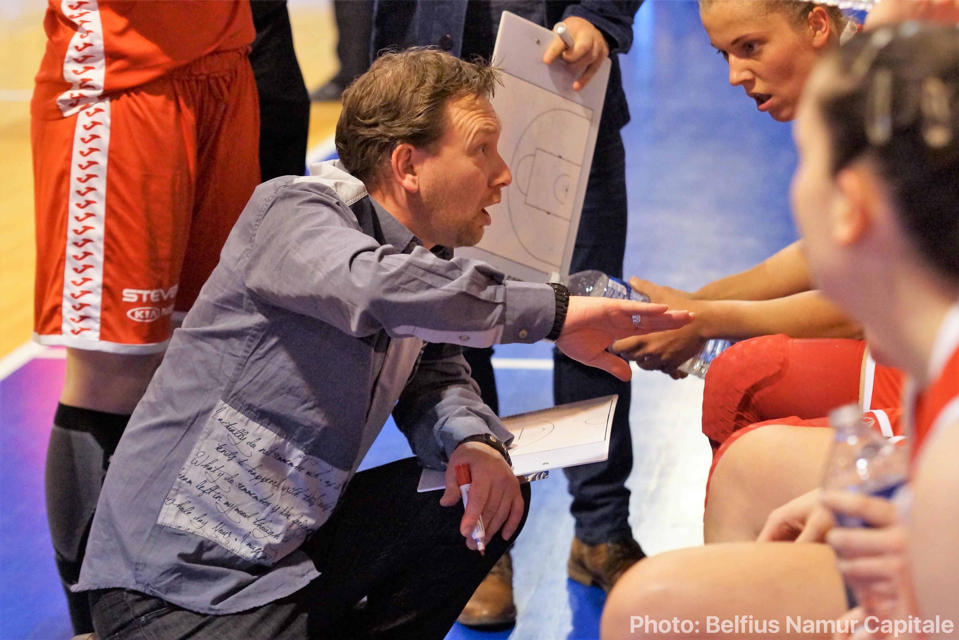 Vincent Bouffioux ne sera plus à Belfius Namur la saison prochaine