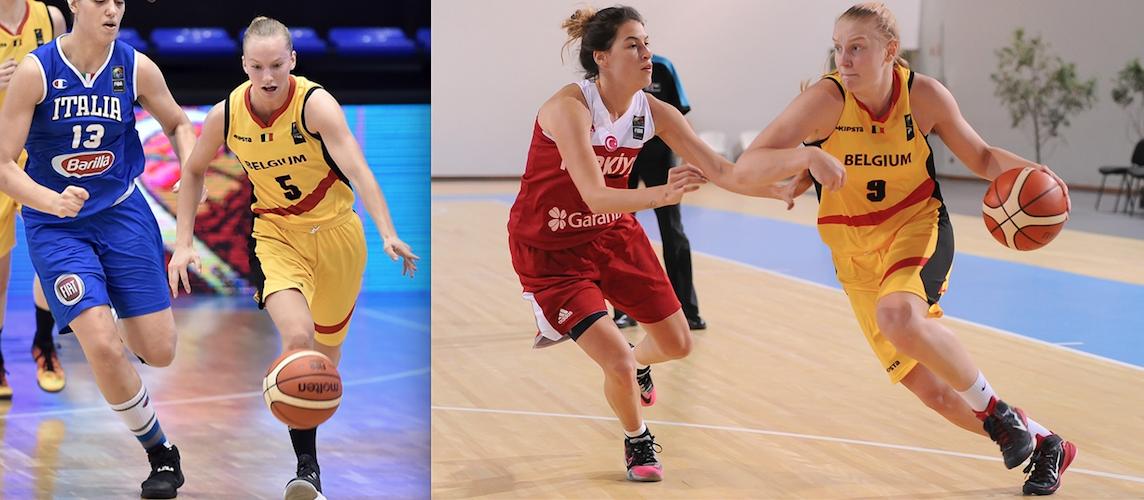 Déchirures des ligaments (ACL) pour Eline Maesschalck et Ine Vanderhoydonks