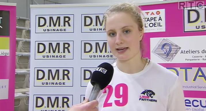 Déchirure des ligaments pour Alice Bremer (Liège Panthers)