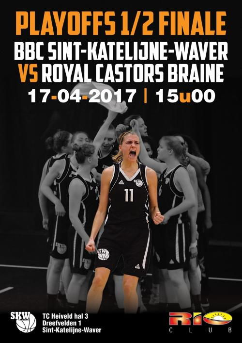LIVE TV - Play-off - Sint-Katelijne-Waver vs Mithra Castors Braine