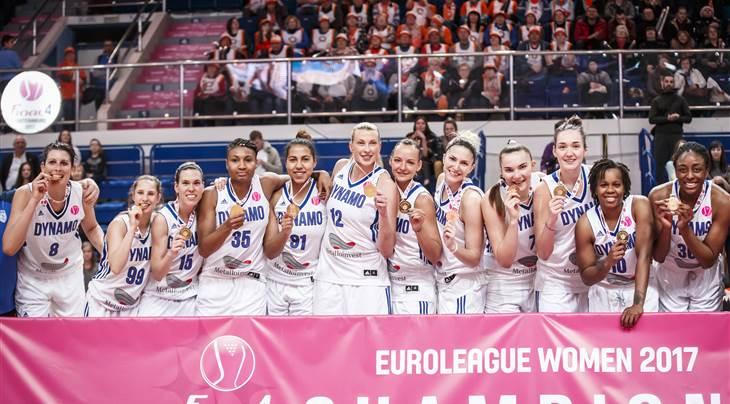Premier titre en Euroleague pour Kursk (photo: FIBA.com)
