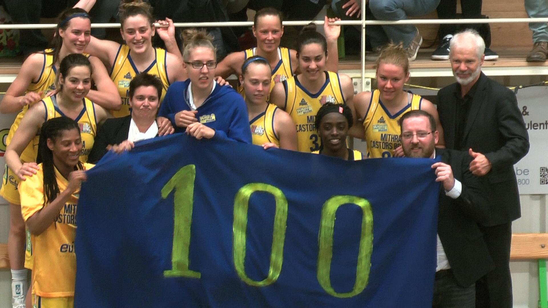 La 100e pour Mithra Castors Braine qui rejoint Kangoeroes en finale