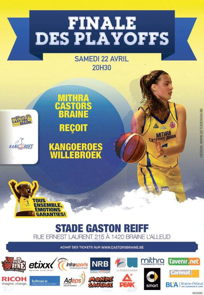 TV Live - Finale - Mithra Castors Braine vs Kangoeroes Willebroek