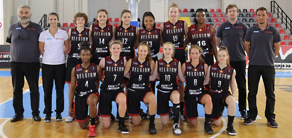 Euro U16 (division B) - La Belgique en argent, remonte au sein de l'élite, Maxuella Lisowa MVP