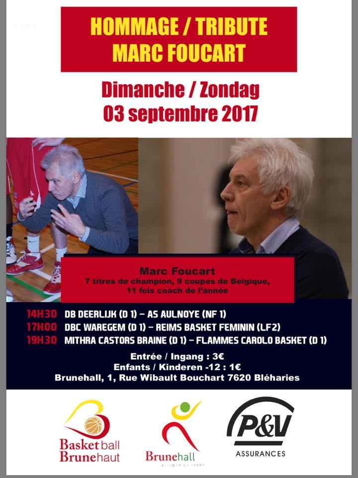 Hommage à Marc Foucart dimanche à Brunehaut